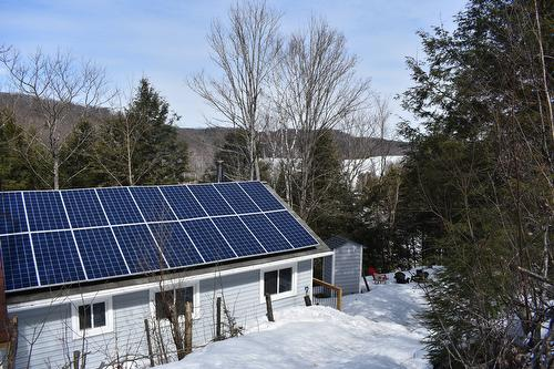 Fully solar powered cottage